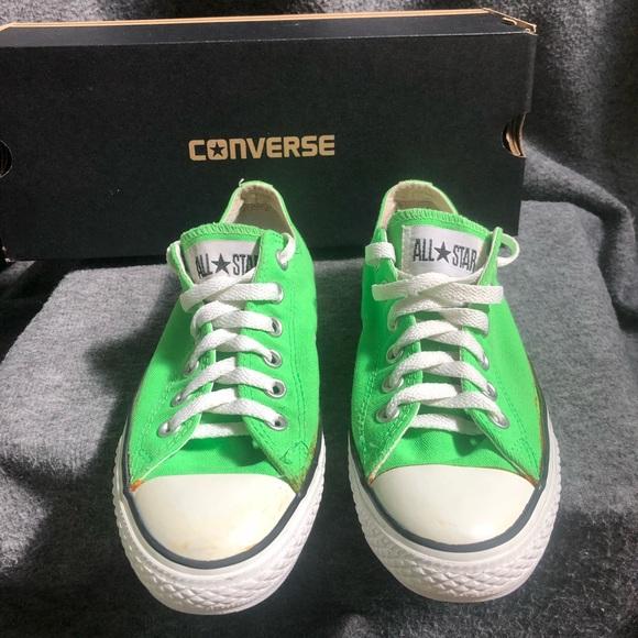 7d540cb91176 Converse Shoes - Lime Green Converse Shoes